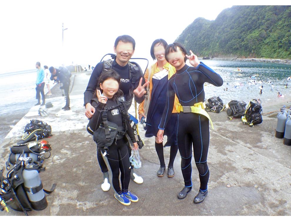 【未経験者向け】ファミリー・グループ向け体験ダイビング(3名以上)