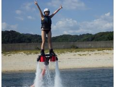 愛知の海でフライボード体験☆海でやるからマリンスポーツ!!(リミット)15分休憩なしのぶっ続け体験!!!