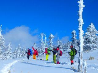 【じゃらん限定☆】ランチ付き♪ <北八ヶ岳スノーシュー1日>満喫ツアー
