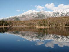 知床五湖:4月から5月にかけて、雪が一気に解け、景色が変化してゆきます。季節毎の風景も知床五湖の大きな魅力のひとつです。