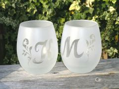 すりガラスにする仕上げ。オンリーワングラスで美味しいお酒で乾杯!