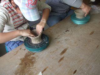 【陶芸手作り体験プラン♪】時を忘れて楽しいひと時を!美味しいコーヒー付き♪