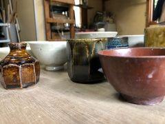 釉薬は手作りですので、既製品には無い味のある作品に仕上がります♪