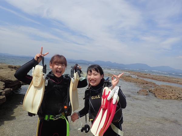 【南紀白浜】関西にもこんなに綺麗な海があったんだ♪初心者にオススメ☆体験ダイビン...