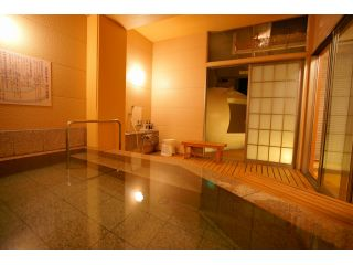 ココが話題のたまご型ゆげ風呂付石風呂です。