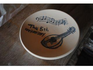 【カップル向け】記念写真付★素焼き皿「絵付けコース」5寸皿(お一人様1500円)