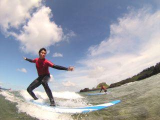 ☆当日予約はお電話にて!☆沖縄でサーフィンデビュー!「初めての♪体験ロングボードサーフィン」