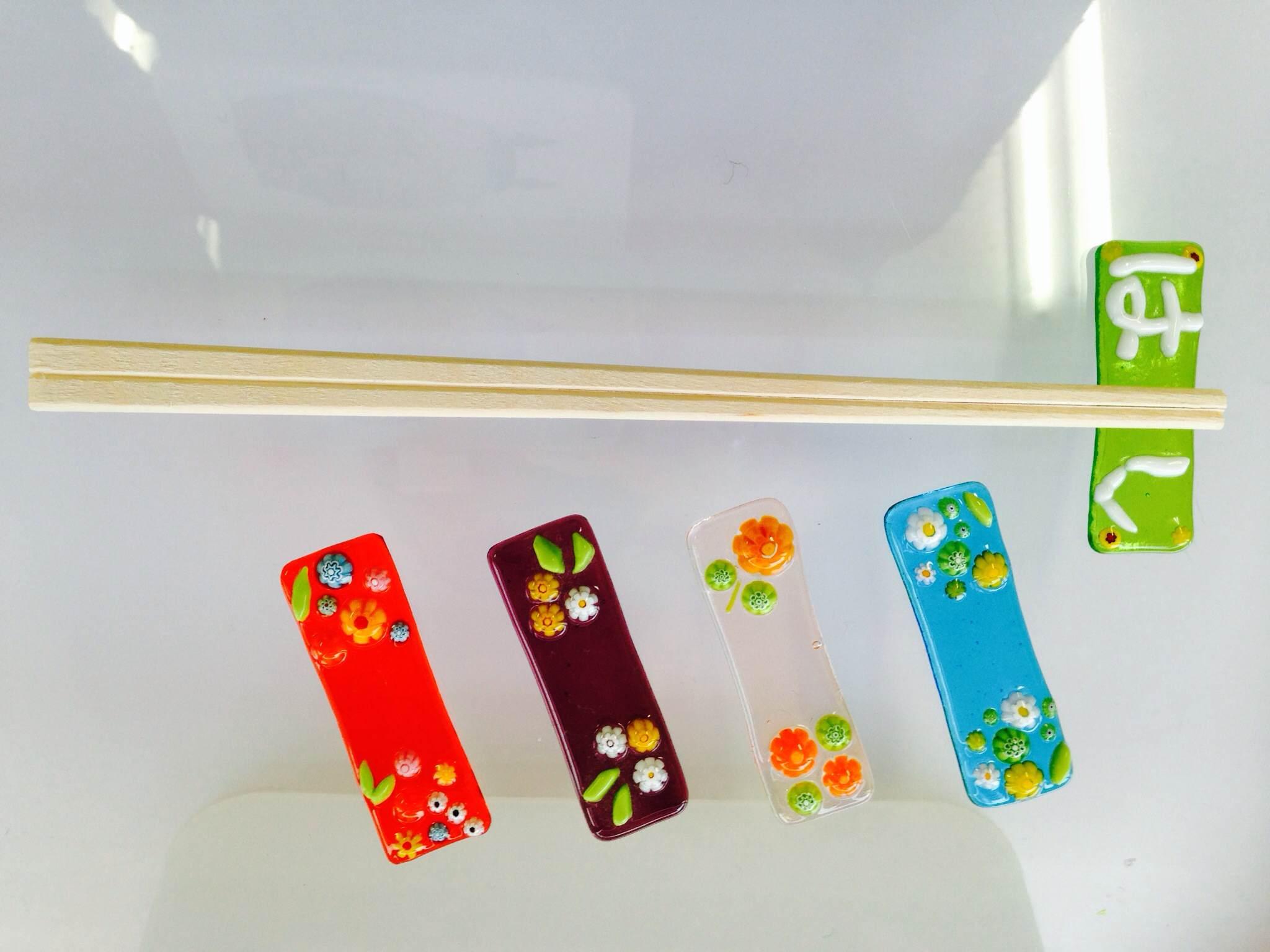 【ガラス細工・お箸置き作り】食卓を彩るお箸置き作り体験♪2歳以上~OK