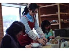 陶芸教室風景