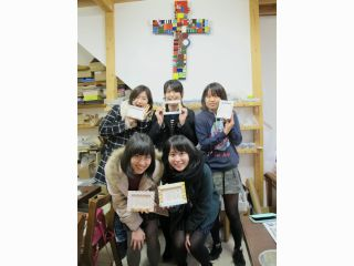 学生様同士のご旅行にモザイクタイル体験♪女子旅、サークル・ゼミのお仲間と一緒に伊豆へ♪