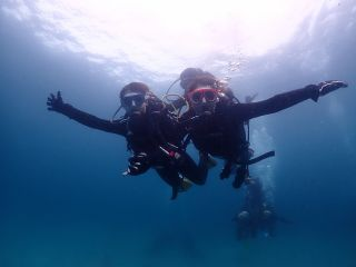 ダイビングの浮遊感、サイコー♪♪♪