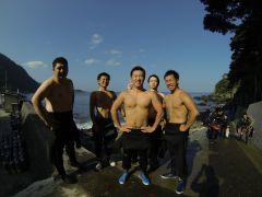学生時代の仲間と初ダイビング!