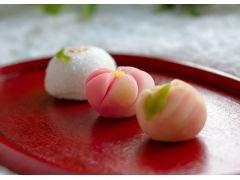 季節感に富んだ和生菓子からお好きなものを選んで。