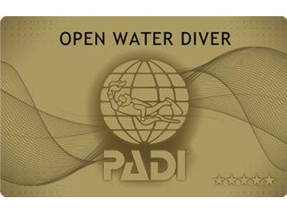 ★世界最大のダイビング団体「PADI」★ライセンスのファーストステップコース★