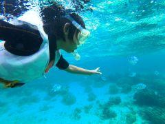 初めてみる海の中の世界☆