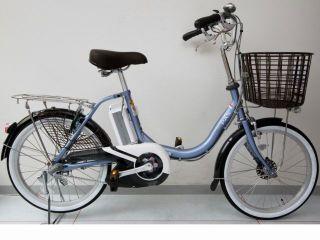 20インチの小さめ電動アシスト付自転車