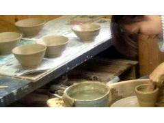 サポートがありますから、こんなにキレイにお茶碗が出来ます!