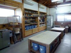 陶芸工房風景です
