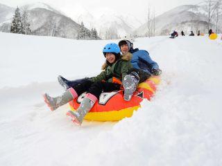 【岐阜県/白川郷】*\スノースライダー/*ソリ滑りで思いっきり雪を楽しもう!!【カップル・ファミリー】にもおすすめ♪♪