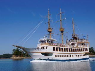 九十九島遊覧船パールクィーン