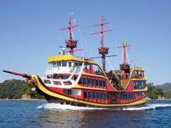 九十九島海賊船みらい