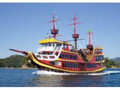 九十九島遊覧船「みらい」