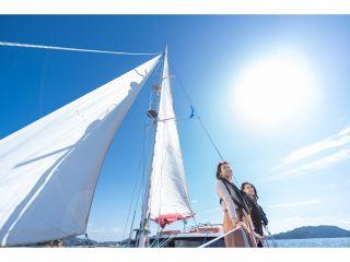青い空と海、そして風を全身で感じられます