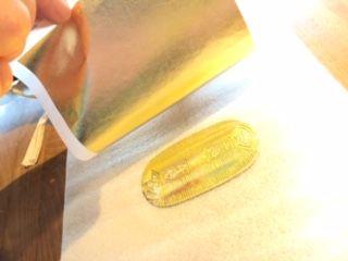 世界にひとつだけ!あなただけの宝物を作れる!金箔貼り体験(60分/お1人様1,000円)