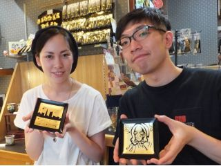 【金沢が誇る金箔を使用!】贈り物やお土産にも最適な金箔工芸プラン<ファミリー・カップル>