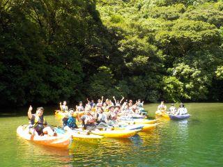 学生応援プラン お帰り前の午前リバーカヤックorSUP川遊びツアー♪