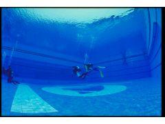 施設内のプール(スイミングプール&ダイビングプール)で、練習してから海へ行きますので初めての方にも安心です