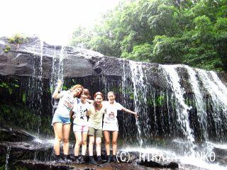 【石垣島発】☆往復乗船券付☆西表島カヌー&トレッキングで行く「サンガラの滝」コース