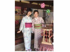 体験後は着物を着て古川町散策もしてみてはどうでしょう??