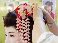 かつら着装◆花かんざしもお着物に合わせて選べます