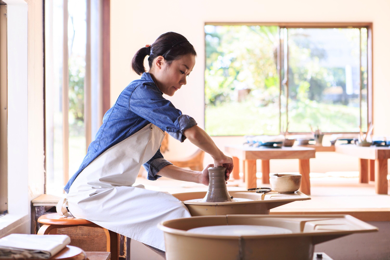 【じゃらん限定プラン】朝イチ割引 ろくろ陶芸体験