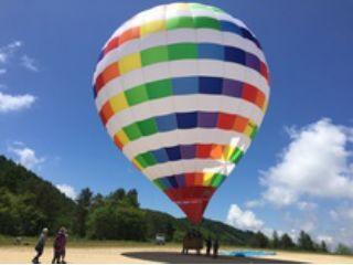 ★絶景を一望!!熱気球体験搭乗(フリーフライト)滋賀〜近江八幡エリア〜(45分)★