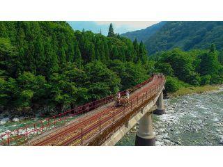 渓谷コース一番の見所、漆山第1PC橋