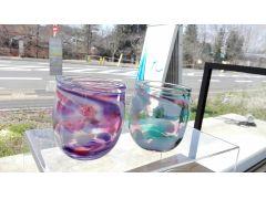体験作品例 丸いグラス