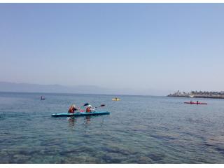 高島海域を2人で楽しむタンデム3時間プラン