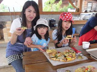 ご家族、友人同士で楽しみながらピザを作ろう!