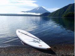 1000円札の富士山がお出迎え。最高の景色です。