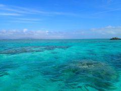 海の色が変わる瞬間は感動物!
