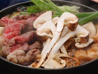 秋の味覚「松茸」と「近江牛」が食べ放題