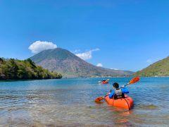 日光の象徴「男体山」を対岸に見ながら透明度抜群の湖へ漕ぎ出そう!