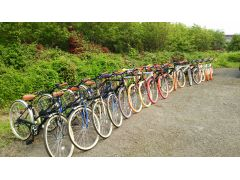 3種類の自転車の中からお好きな車種をお選び頂けます。