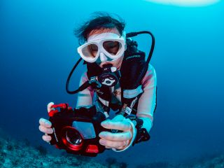 《コロナ対策適用プラン》【那覇発/慶良間】水中写真教室付き!フォトダイブ2本!最新水中カメラTG-6&器材が無料レンタル!お手軽に水中写真を楽しもう!