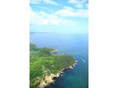 海の上を飛べる体験は、東北では唯一ここだけ!