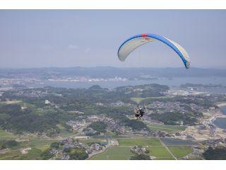 日本三景松島を空から満喫!飛ぶ感覚は言葉にできない爽快感です。