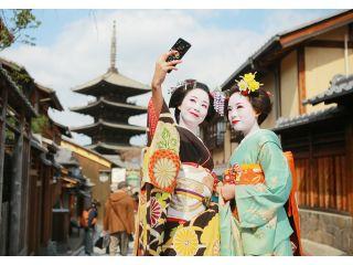 舞妓姿で京都散策♪たっぷり60分楽しめます!