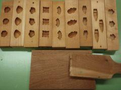 使用する木型